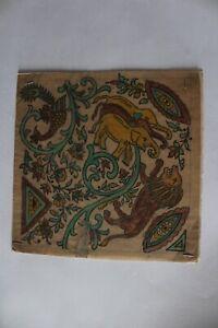 Handmade textile design ancient artwork