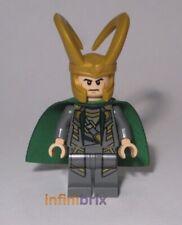 Lego Loki Minifigure from Sets 6867, 6867 + 6869 Avengers Super Heroes NEW sh033