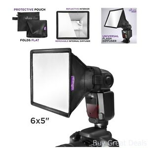 Flash Diffuser Light Softbox Collapsible Portable Speedlight Photography Tools