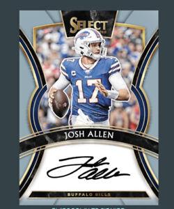 2019 Select Signature -JOSH ALLEN (Panini NFL Blitz App digital card)