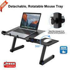 Adjustable Laptop Standing Desk Riser Sit Stand Computer Desktop Home Office Us