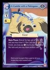 3x A Cuddle with a Pekingese - 84 - My Little Pony Absolute Discord Mlp Ccg