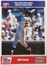 1992 Will Clark Diet Pepsi Collector's Series Card # 14 of 30