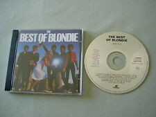 BLONDIE The Best Of Blondie Dutch CD album