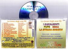 ITALIAN COMPILATION - La Classe Degli AnnI 90  2003 CD Nuovo RARISSIMO