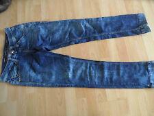 Miss SIXTY cool Jeans Skinny Wilkie fantastiche lavaggio MIS. 28 Top RID
