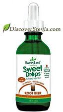 Sweet Leaf Sweet Drop Sweetener Liquid Stevia 2 oz Root Beer ZERO Calorie Flavor