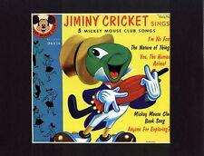 JIMINY CRICKET~PINOCCHIO~Guitar Hero~ 8x10 Mat Print~MICKEY MOUSE CLUB~NEW