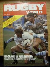 01/07/1981 Rugby World Magazine: July Edition - Complete Issue of the monthly ma
