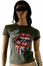Amplified ROLLING STONES Union Jack Vintage Tee-shirt S
