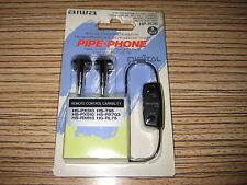 AIWA Md Cassette DSL Cuffie 7-25000 Hz. remote HP r36. Auricolari OVP 3,5 Plug