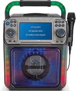 Singing Machine Groove XL 20W CD & Bluetooth Karaoke Machine RRP £150