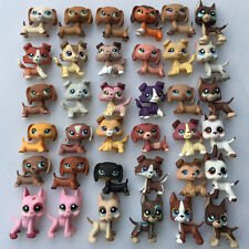 5pcs Random LPS Lot Dachshund Great Dane Collie Sausage Dog Littlest Pet Shop