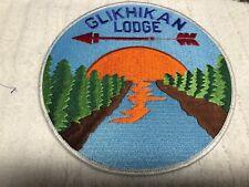 Glikhikan 106 Lodge JACKET PATCH PROTOTYPE FLAWED ARROW NO CANOE NO WWW RARE NEW