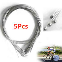 5 Pcs Bicycle Shift Shifter Derailleur Gear Stainless Steel Inner Cable Wire