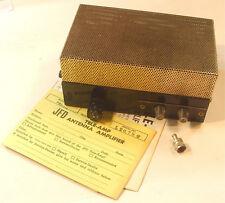 Vintage JFD Electronics 75 Ohm Color TV Antenna Amplifier/Splitter HVB-275