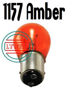 (10) Amber 1157, 2057, 2357 Bulb