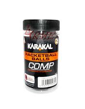 Karakal Racquetball Balls - Black (Competition Balls)