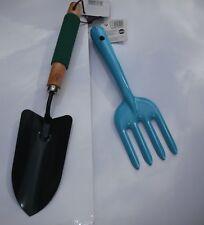 Garden Gardening Hand Trowel-Spade,Fork & 60m String.  3pc Set