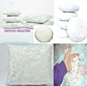 "12''x 16"" 18"" 20"" 22"" 24"" crumb foam cushion pads Inserts Fillers Inner floor"