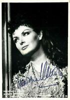 Opera - Autografo del mezzosoprano Nadine Denize (Rouen, 1943)