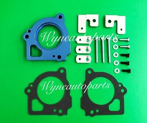 BLUE Throttle Body Spacer Fits 1999 2000 2001 2002 Jeep Grand Cherokee 4.7L