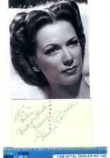 Eleanor Powell vintage signed card AFTAL#145