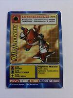 Carte Digimon Ninjamon MP-94 Française RARE