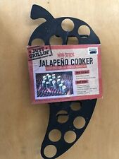 Just Grillin' Non-Stick Jalapeno Cooker Holds 22