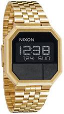 Reloj Hombre Nixon Re-Run A158502 de Acero inoxidable ba?ado en oro Dorado