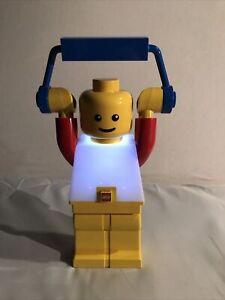 Lego Minifigure LED Lantern Night light Retro Battery Powered Great Condition