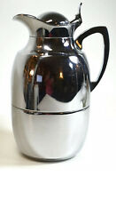 New listing Alfi 1L Juwel Chrome Plated Brass Thermal Carafe Made in Germany~ Excellent!
