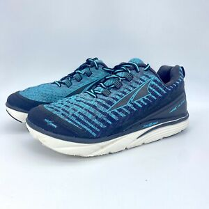Altra Womens Torin Knit 3.5 AFW1837K-3 Black Blue Running Shoes Lace Up Sz 8.5 W