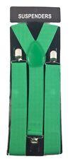 "New  Clip-on 1.5 "" Extra WIDE Suspenders Elastic Men Women Y-Shape  USA Seller"