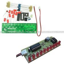 NE555 & CD4017 LED Light Chaser Sequencer Follower Scroller Module DIY Kit Red C