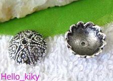 80pcs Tibetan silver heart bead caps A1919
