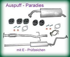 Abgasanlage ab Kat. Auspuff Schalldämpfer Hyundai Getz 1.1 Typ TB ->09/2005 +Kit