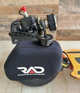 RAD Racing Dynamics Fuel Gas Tank 1.5 L Cap Lines for Goped Go ped Bigfoot
