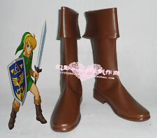The Legend of Zelda link cosplay shoes boots Custom-Made 204 hot