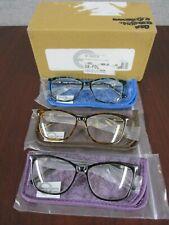 Design Optics By Foster Grant Full Frame Ladies Reading Glasses- 3 PACK  +2.75