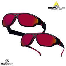 Delta Plus golpe Espejo 2 en 1 Deportes Gafas De Seguridad Especificaciones Gafas Protectoras PPE