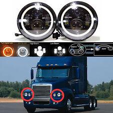 For Freightliner Century Class Pre 2005 Model LED Car Headlight Hi Low Beam Lamp