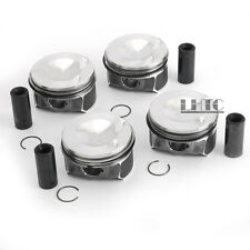 Pistons & Rings STD Φ82.51mm Φ23mm For VW Tiguan GLI GTI Audi A3 A4 A5 2.0 TFSI