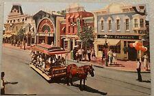 Vintage Postcard Unused Disneyland Main Street Upjohn Pharmacy