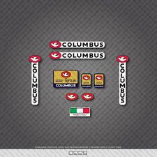 0229 Columbus TRETUBI Bicycle Frame and Fork Stickers - Decals