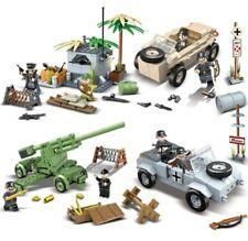 Lot 8 figurines Militaire Allemand WW2 Soldats compatible avec Lego