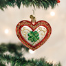 "Old World Christmas ""Lucky in Love"" Glass Ornament    **FREE SHIPPING**"