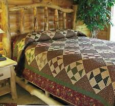 Lodge Getaway Quilt quilting pattern instructions