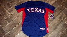 AWESOME! Authentic TEXAS RANGERS Batting Jersey 46 Majestic USA $100 NWT!