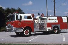 Holloway Terrace DE Engine 204 19?? Mack CF Pumper - Fire Apparatus Slide